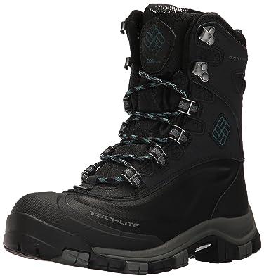 Columbia Womens Bugaboot Plus OmniHeat Michelin Snow Boot       Black        Cloudburst       5