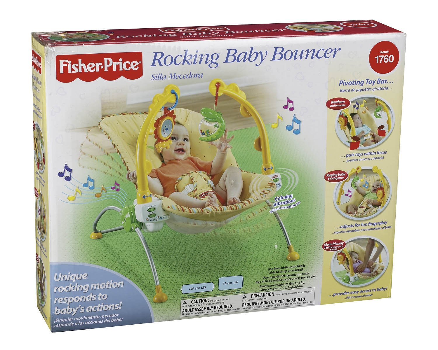 Fisher-Price Rocking Baby Bouncer (Discontinued by Manufacturer)