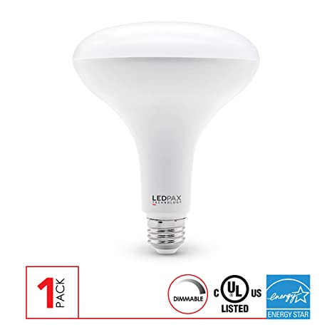 Bombilla LED BR40 de intensidad regulable, 15 W (equivalente a 85 W),