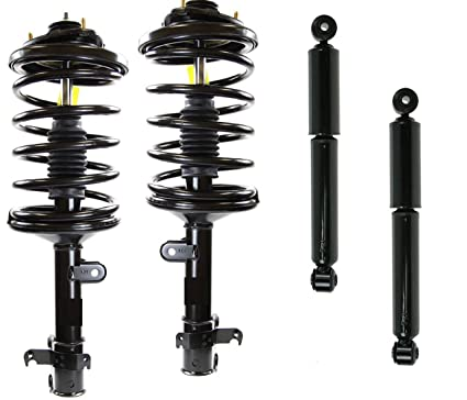 Amazoncom DTA Full Set Front Complete Struts With Springs - 2007 acura mdx rear shocks