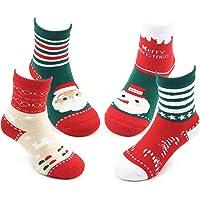 Boys Thick Cotton Socks Kids Winter Warm Crew Seamless Socks