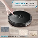 GOOVI Robot Vacuum, Upgraded Robotic Vacuum Cleaner (Slim) Max Strong Suction, Quiet Multiple Cleaning Modes, Self-Charging Vacuum, for Pet Hair, Hard Floor, Medium-Pile Carpets