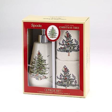Amazon.com: avanti linens Spode árbol 3 piezas Juego de caja ...