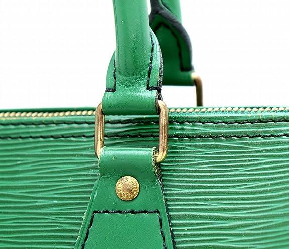 65fef46d938b Amazon | [ルイ ヴィトン] LOUIS VUITTON エピ スピーディ30 ハンドバッグ ミニボストンバッグ ボルネオグリーン 緑  M43004 | ハンドバッグ