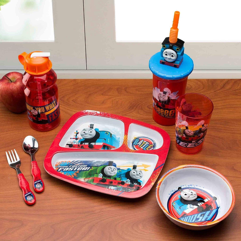 ZAK - Thomas and Friends 3-Section Plate for Kids - 1 Set Amazon.co.uk Kitchen u0026 Home & ZAK - Thomas and Friends 3-Section Plate for Kids - 1 Set: Amazon.co ...