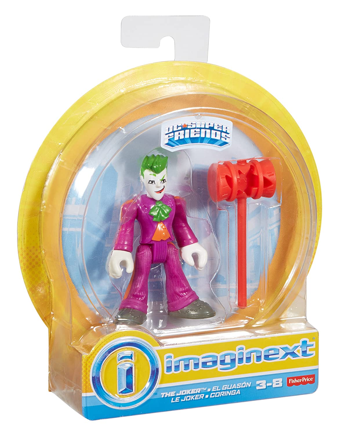 Import DPF02 Fisher-Price Imaginext DC Super Friends The Joker Action Figure Fisher Price