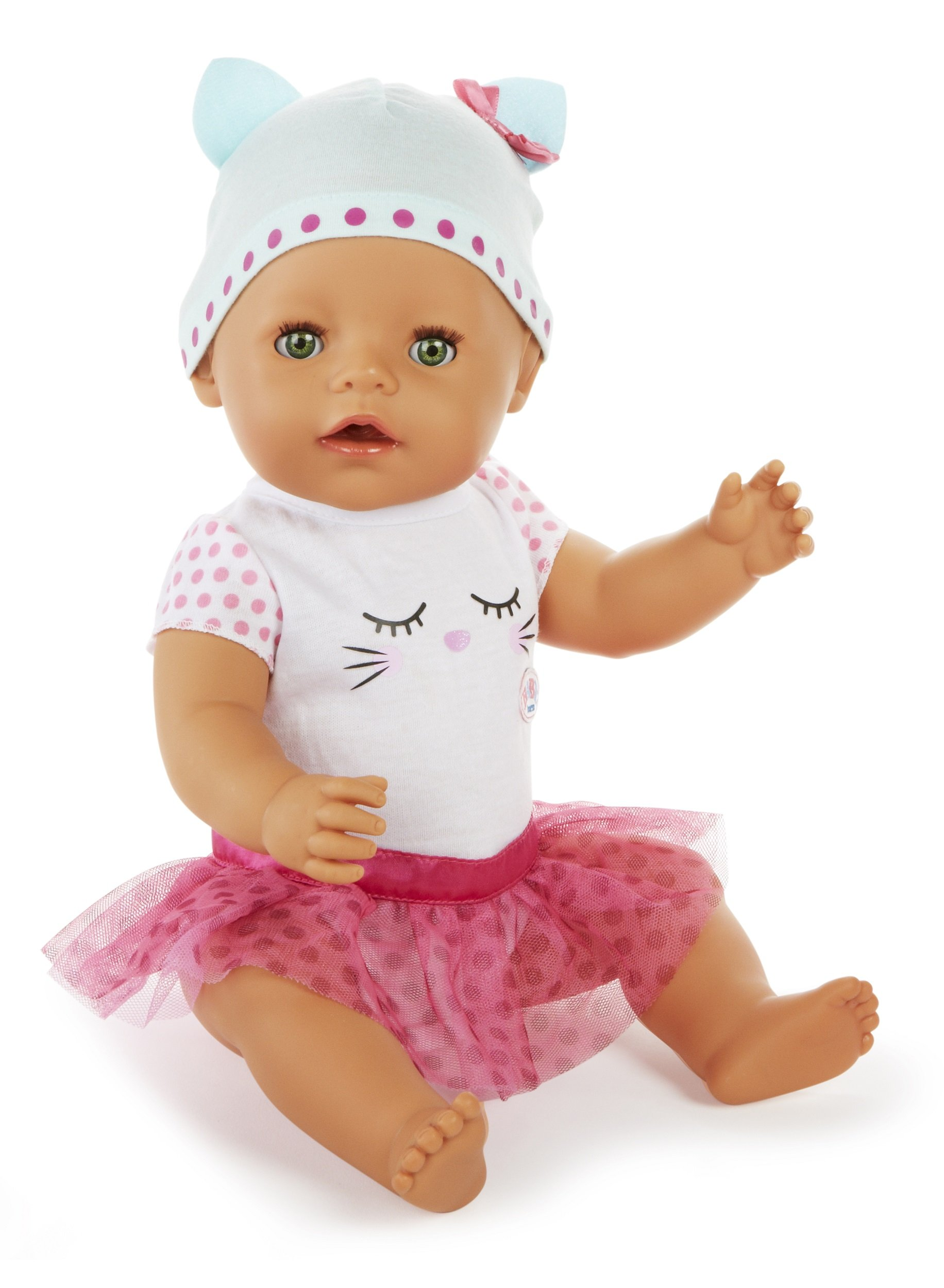Baby Born Interactive Doll Green Eyes Toymamashop