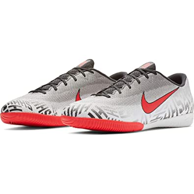 9c045ccc1 Amazon.com | Nike Mercurial Vapor 12 Academy Mens Neymar IC (8 M US)  White/Red | Soccer