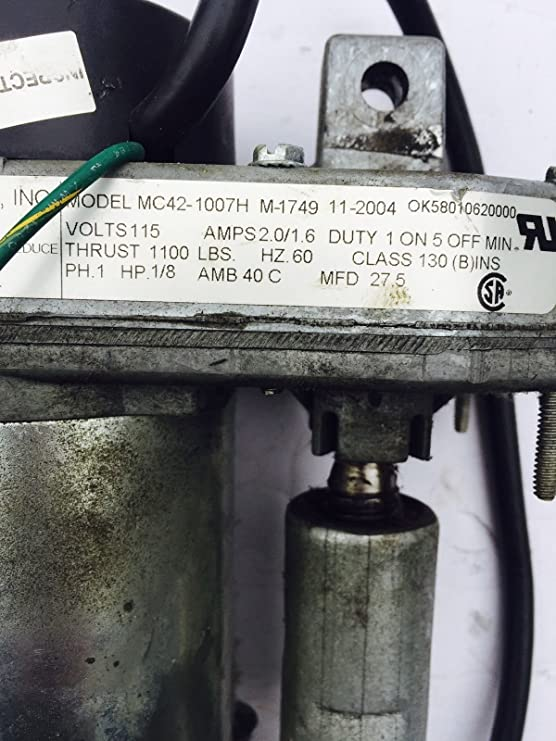 Life Fitness Inclinación Motor Funciona con 93t 95ti 95t 97t 97ti ...