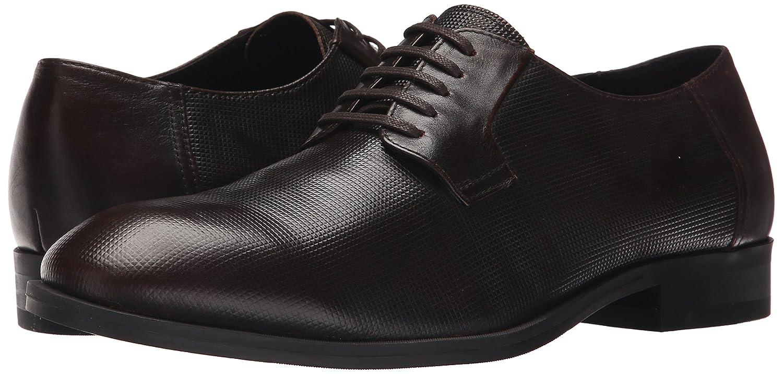 Amazon.com | Calvin Klein Men's Shayne Stud Emboss Leather Oxford, Brown,  10.5 M US | Oxfords