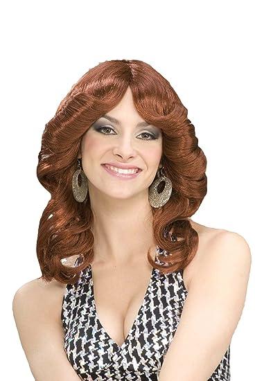 Amazon.com  Forum Novelties Women s 70 s Disco Doll Costume Wig ... 7828972f86