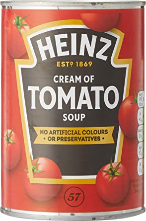 Heinz Platos Preparados Sopa Tomate Lata 400 g: Amazon.es ...