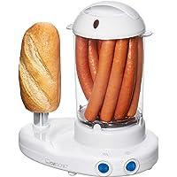 """Clatronic HDM 3420 Hot-Dogmaker inclusief eierkoker, voor 1 tot 14 worstjes (bijv.""""Frankfurter"""",""""Wenen""""), bereiding van…"""