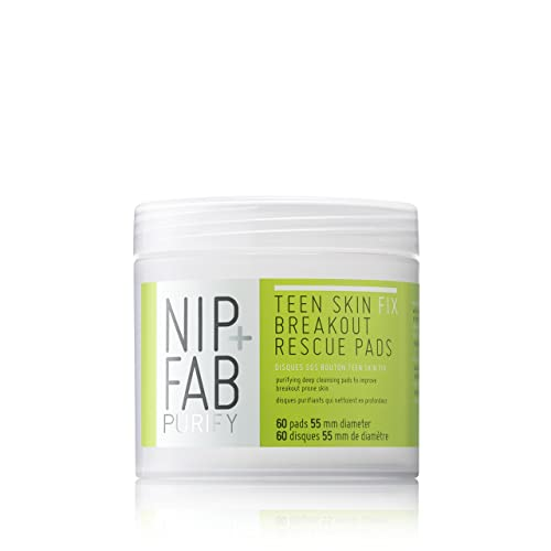 NIP+FAB Teen Skin Fix Breakout Rescue Pads