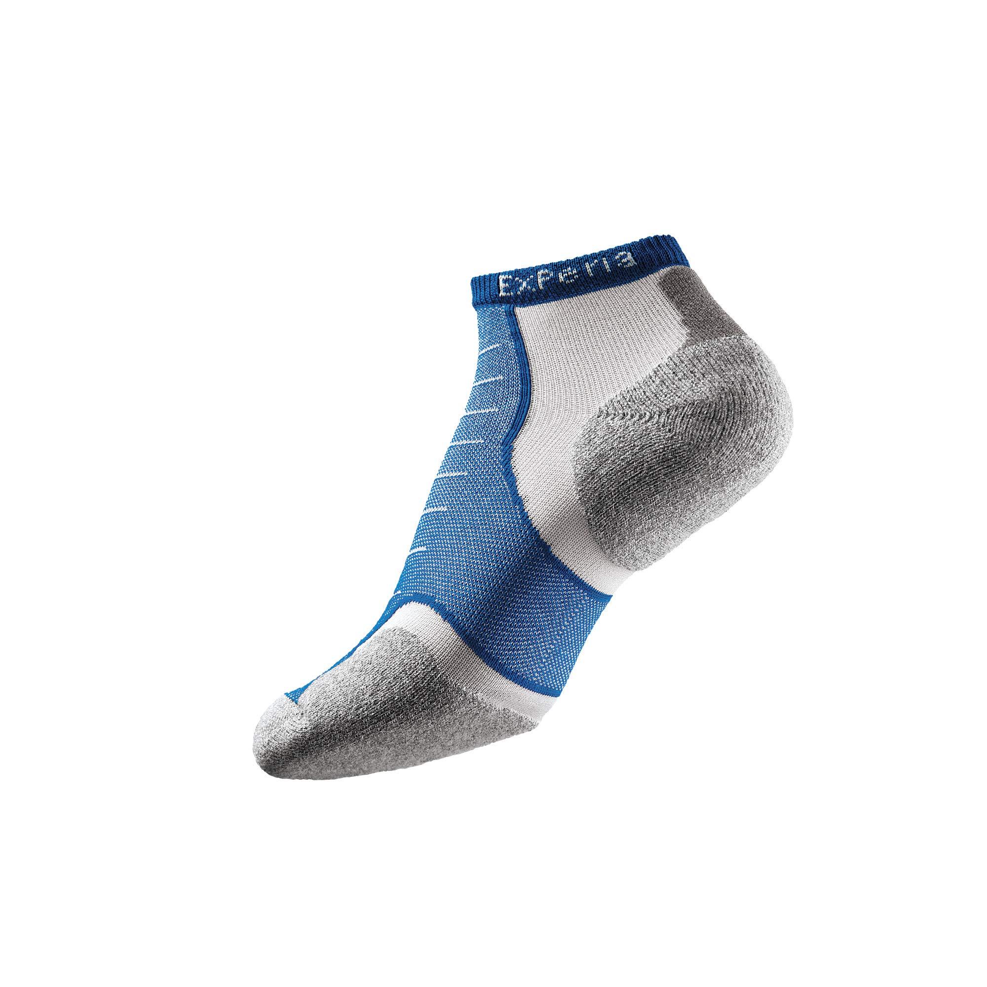 Thorlos Experia XCCU Thin Cushion Running Low Cut Sock, Royal, XL by Thorlos Experia