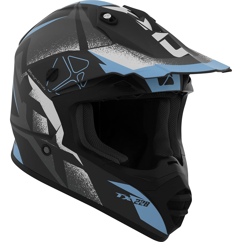 CKX Unisex-Adult's Landslide TX228 Off-Road Helmet (Matte Orange, Small) 509832