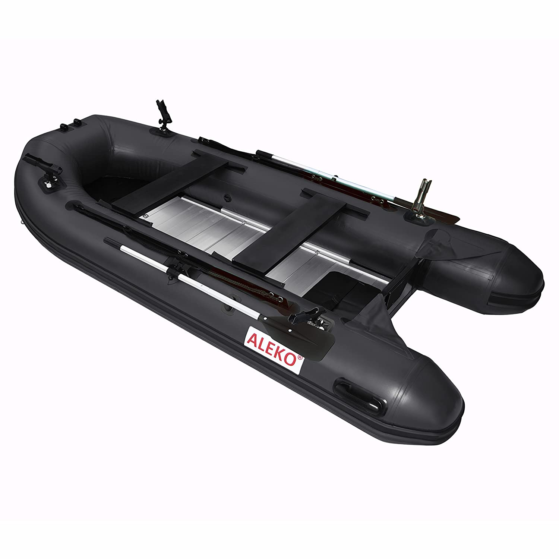 ALEKO btf380bk Pro barco de pesca Balsa 12.5 pies con suelo de ...