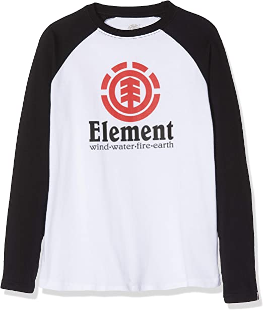 Element Vertical Raglan - Tops de Manga Larga Niños: Elements: Amazon.es: Ropa y accesorios