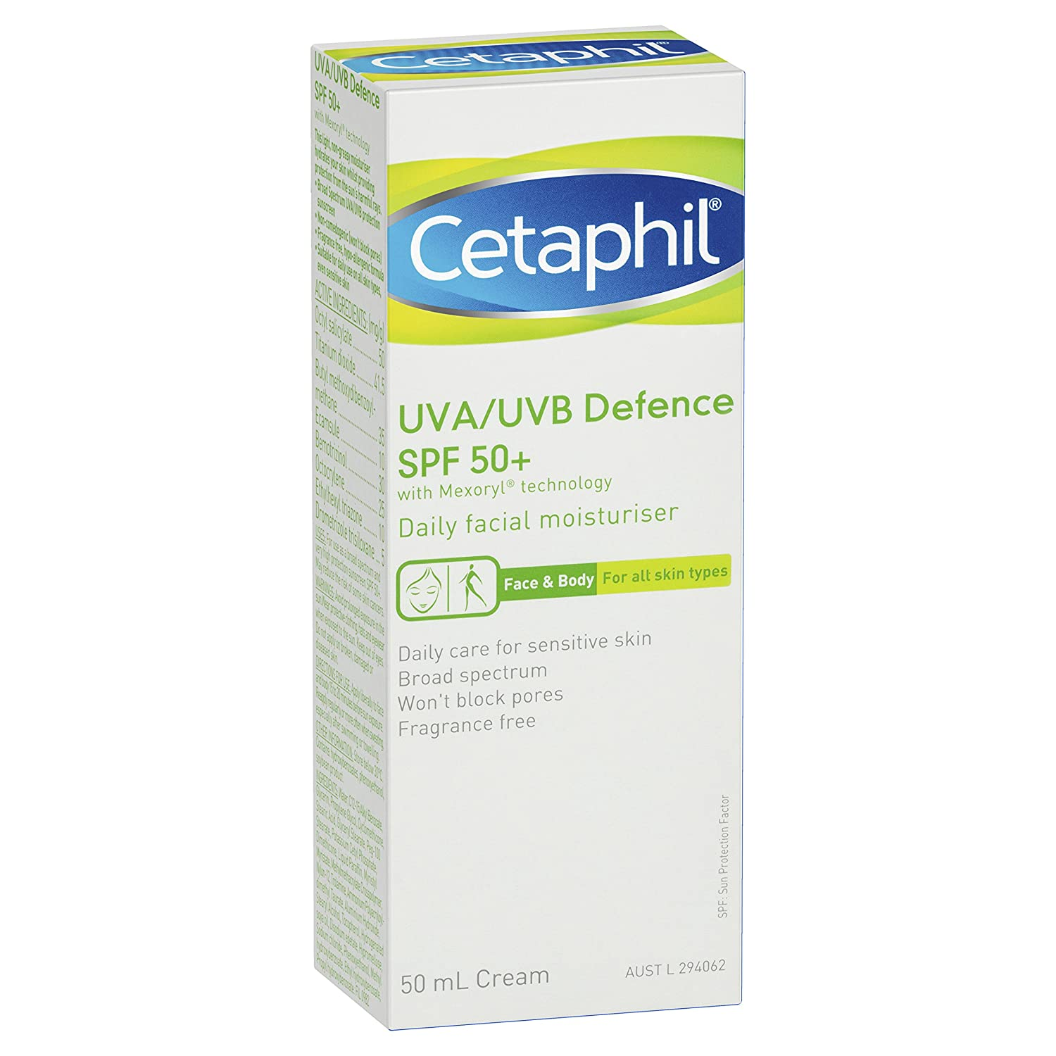 Cetaphil Uva Uvb Defense Spf50 50ml