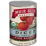 Muir Glen Organic Diced Fire Roasted Tomatoes, 14.5 oz