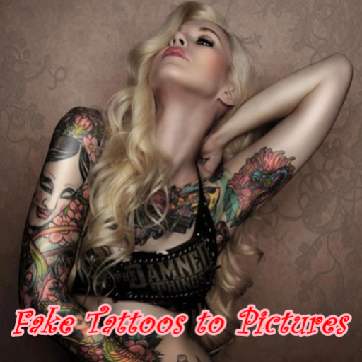 Fake tattoos to pictures appstore for android for Fake tattoos amazon