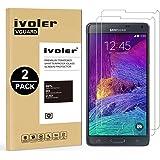 iVoler [2 Pack] Vetro Temperato Compatibile con Samsung Galaxy Note 4 [Garanzia a Vita], Pellicola Protettiva Protezione per Schermo per Samsung Galaxy Note 4