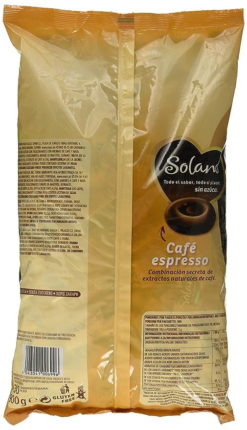 Solano - Café Expresso - Caramelo duro sin azúcar - 900 g: Amazon.es: Amazon Pantry