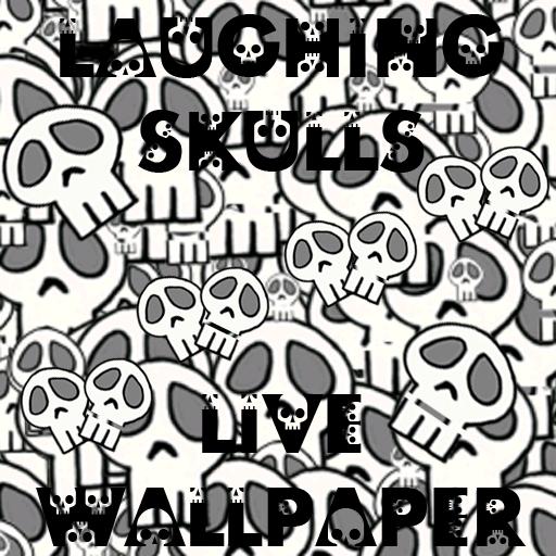 Laughing Skulls PRO Live Wallpaper ()