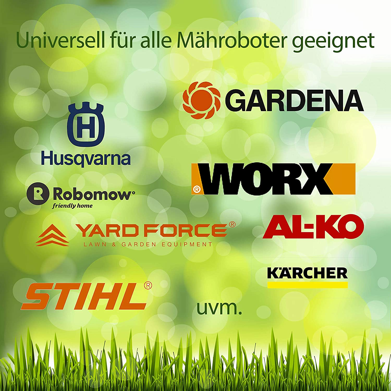 25m SHS Universal Begrenzungskabel Begrenzungsdraht Kabel f/ür M/ähroboter Suchkabel Rasenroboter kompartibel mit GARDENA//BOSCH//HUSQVARNA//WORX//HONDA//ROBOMOW//iMow//K/ÄRCHER uvm.