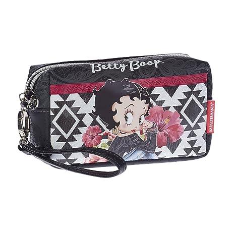 Karactermania Betty Boop Tribal Bolsa de Aseo, 18 cm, Negro: Amazon.es: Equipaje