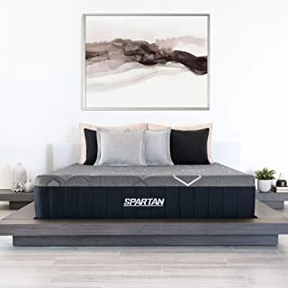 product image for Brooklyn Bedding Spartan 13.5-Inch CopperGel Energex Hybrid Mattress with Nanobionic Recovery Technology, Twin XL Firm