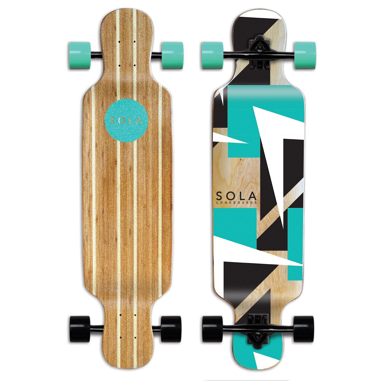 Sola bamboo longboard