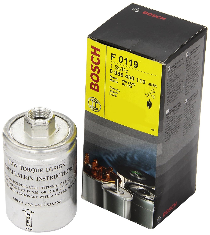 Bosch 986450119 filtro de combustible