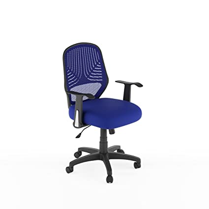 Swell Amazon Com Corliving Lof 279 O Workspace Office Chair Blue Ibusinesslaw Wood Chair Design Ideas Ibusinesslaworg