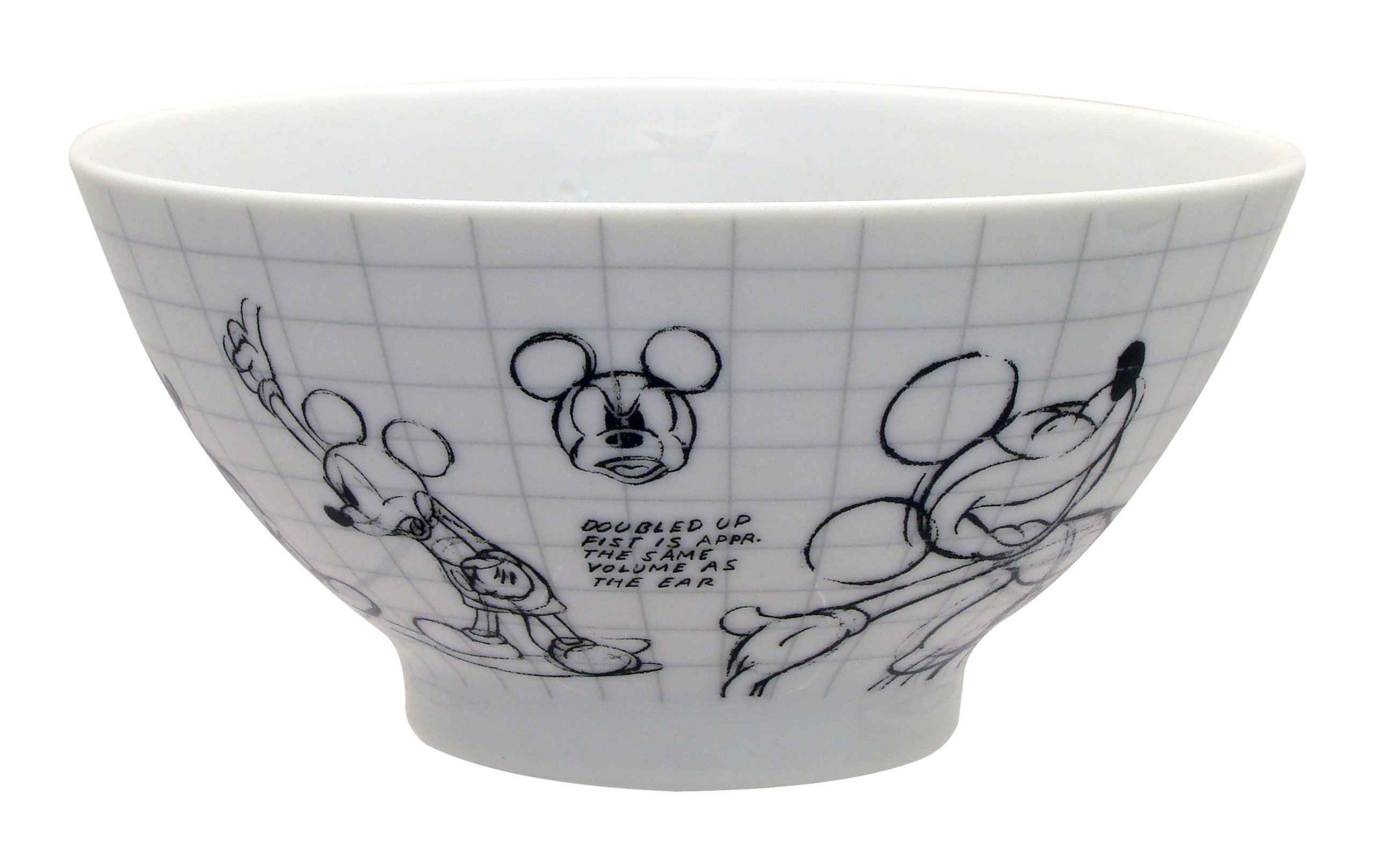 Disney Sketchbook Mickey Bowl, Set of 4