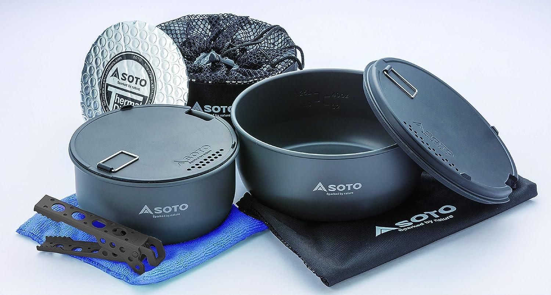 Vango Cook Set-Aluminium Camping Cookware Set-Argent