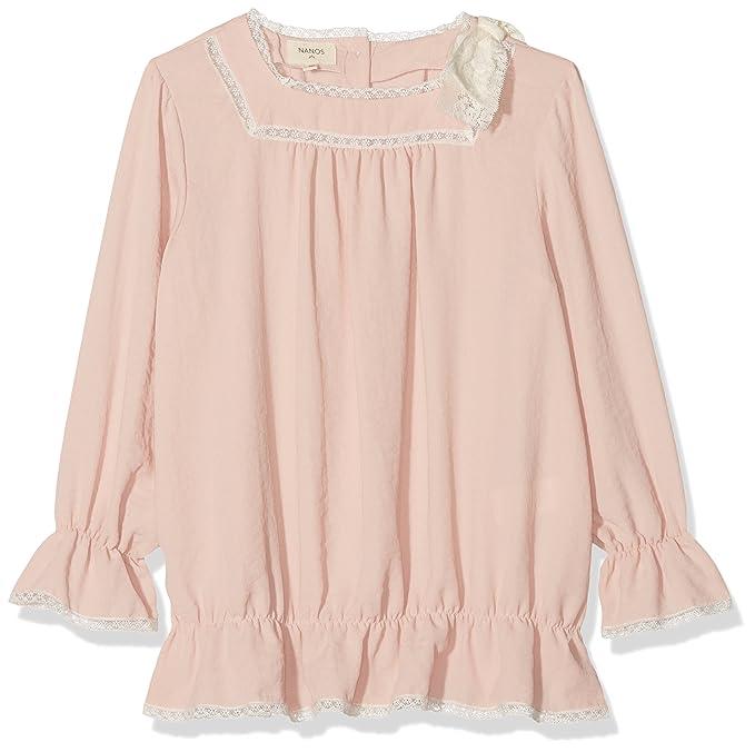 Nanos 1813501903, Blusa para Niñas, Rosa, One Size (Tamaño del Fabricante: