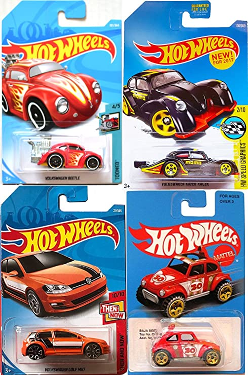 Amazon Com Volkswagen Hot Wheels Car Collection Vw Exclusive Baja
