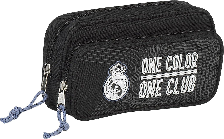 Real Madrid - Estuche portatodo con Bolsillo (SAFTA 811757602): Amazon.es: Juguetes y juegos