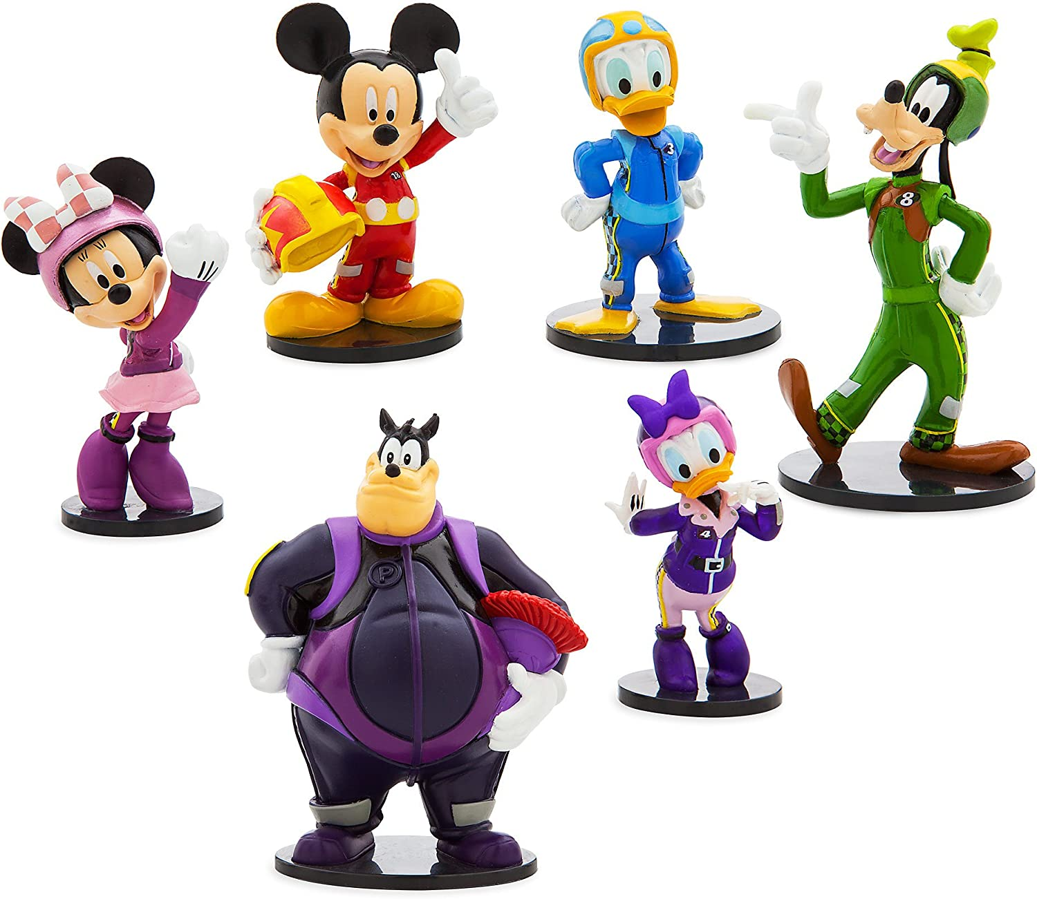Disney Mickey Mouse and The Roadster Racers Figure Play Set: Amazon.es: Juguetes y juegos