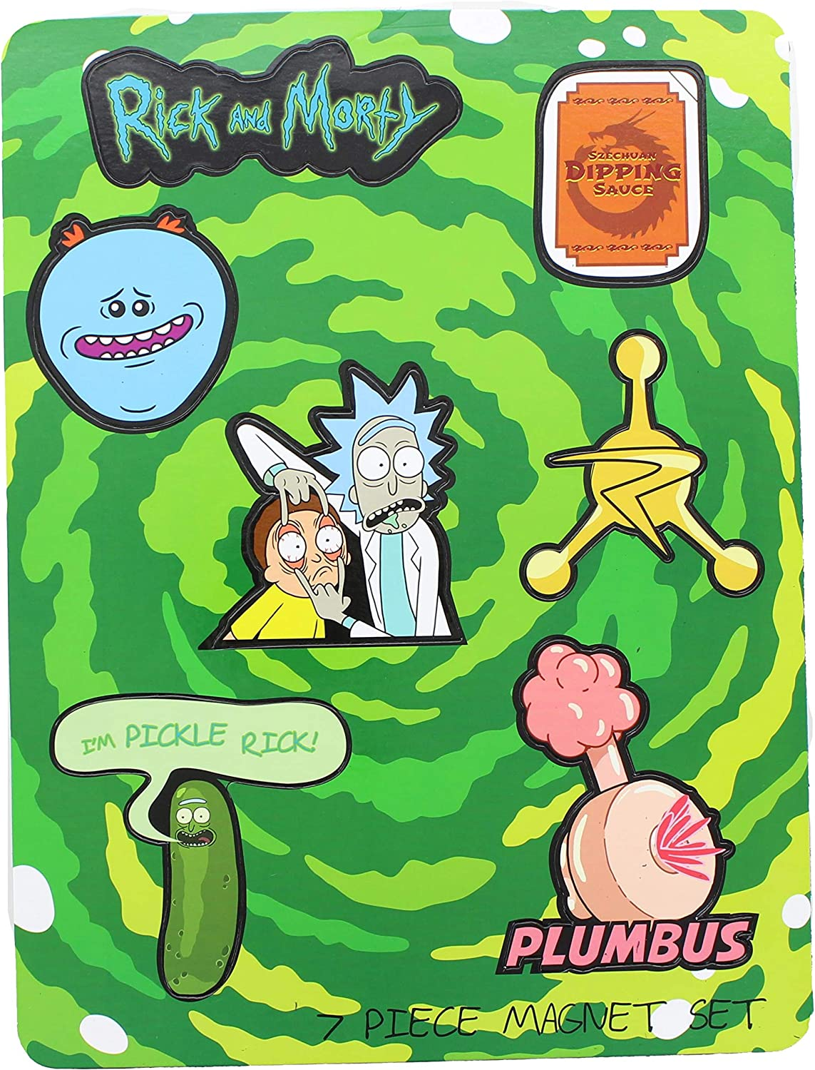 RICK AND MORTY Rick & Morty 6Pcs Magnet Set Collectible Toys