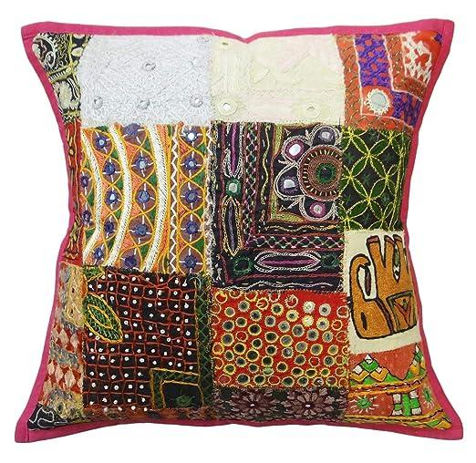 multicolor sofá kutch almohada patchwork fundas de cojines ...