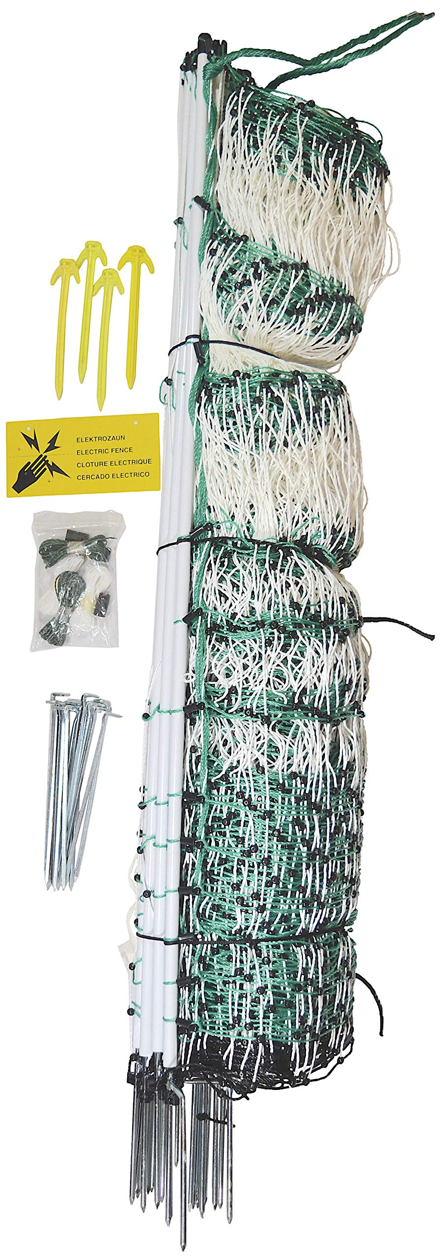RentACoop Poultry Netting Electric Fence (48'' H x 164' L) by RentACoop