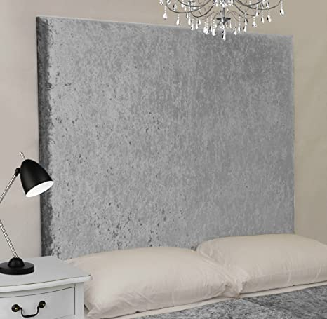 Designer Headboards Miami Sunset Gecrushter Samt Wand Montiert Bett Kopfteil In Doppel King Oder Super King Hohe 121 9 Cm 122 Cm Ice Super King 183cm Amazon De Kuche Haushalt