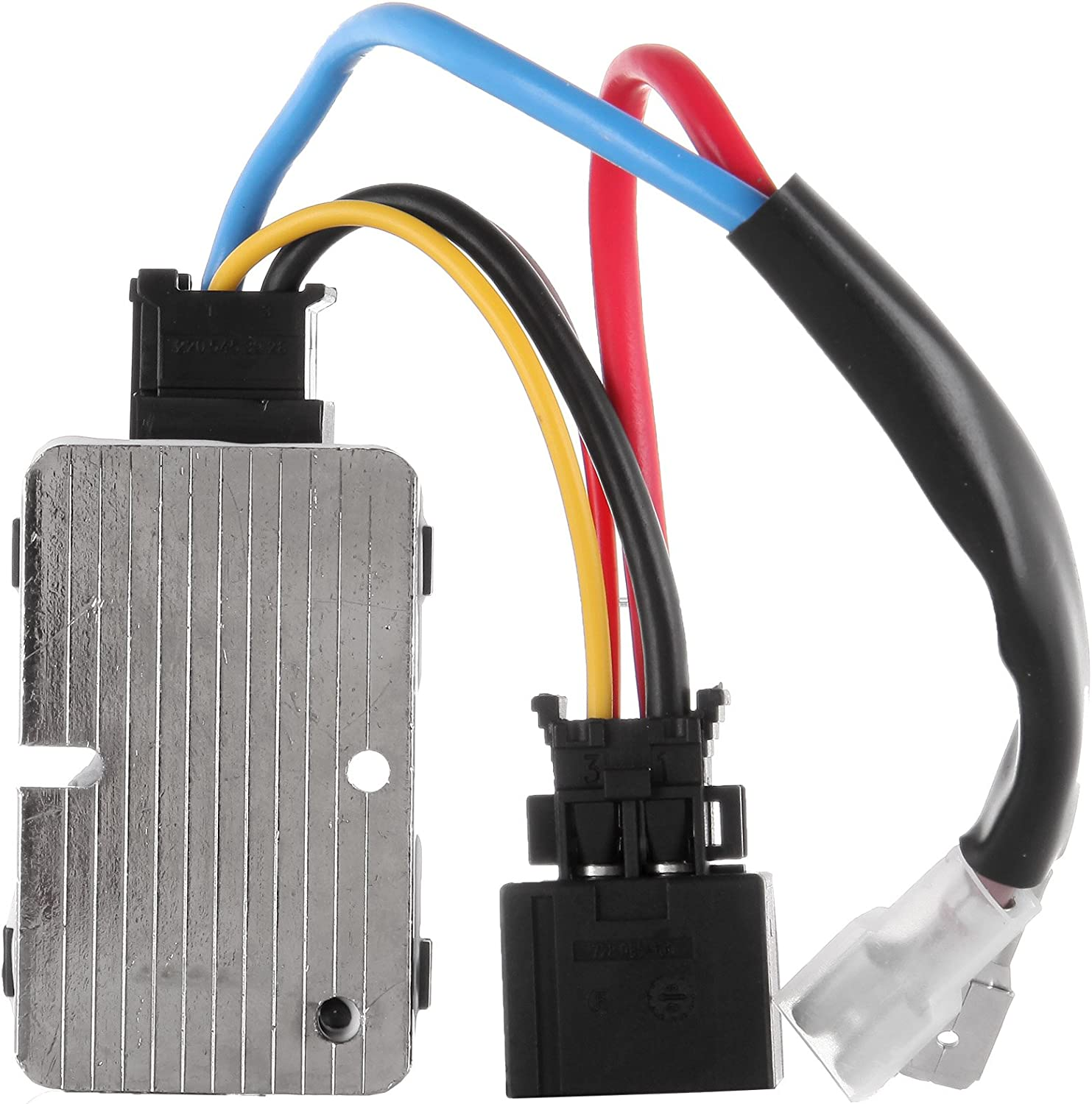 S-Class 94-99 Blower Regulator A//C and Heater Blower Motor Resistor compatible with Mercedes Benz 300SD 92-93