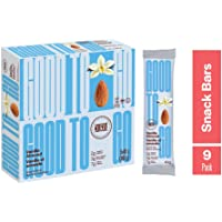 GOODTO GO Vanilla Almond Soft Baked Bars, Net Weight/Bar 1.41 oz. Caddies. Each caddy carries 9 snack bars; These Delicious Snacks Contain Organic Ingredients, Keto Certified, Non-GMO Project Verified, Gluten Free Ingredients, Peanut Free, Vegan, Kosher