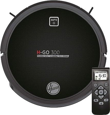 Hoover H-GO 300 -HGO310 Robot Aspirador, bateria Litio de 120 mins, Motor Inverter, Mando a Distancia y Base de Carga, sensores anticaída y antichoque: Amazon.es: Hogar