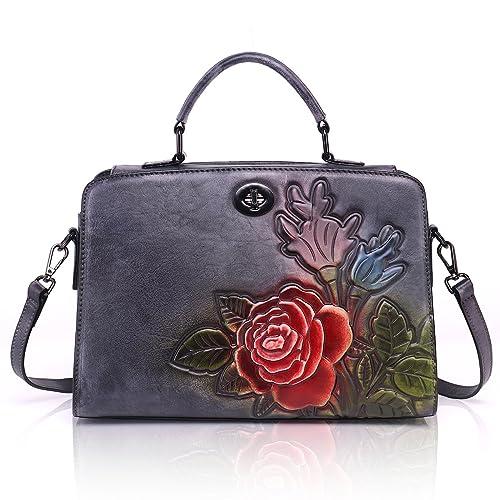 00982223ed41 APHISON Genuine Leather handbags for women Designer