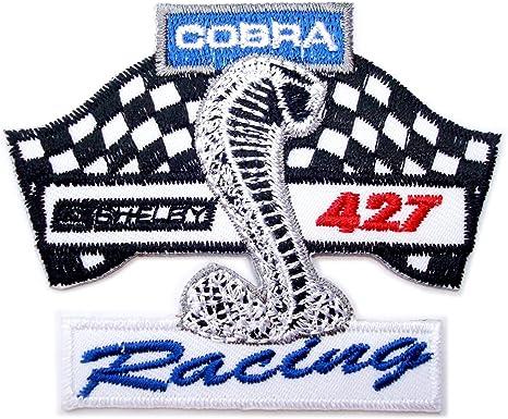 Shelby Cobra 427 Mustang Ford coche logotipo de Polo parche coser ...