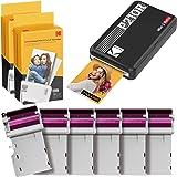 "Kodak Mini 2 Retro 2.1x3.4"" Portable Photo Printer (60 Sheets), Wireless Connection, Compatible with iOS, Android & Bluetooth"